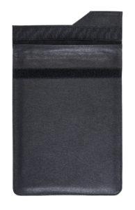 Tablet Sheild Executive - Leather RF Shielding Faraday Bag - Open